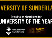 University of Sunderland is shortlisted as University of the Year by THE Awards 2021